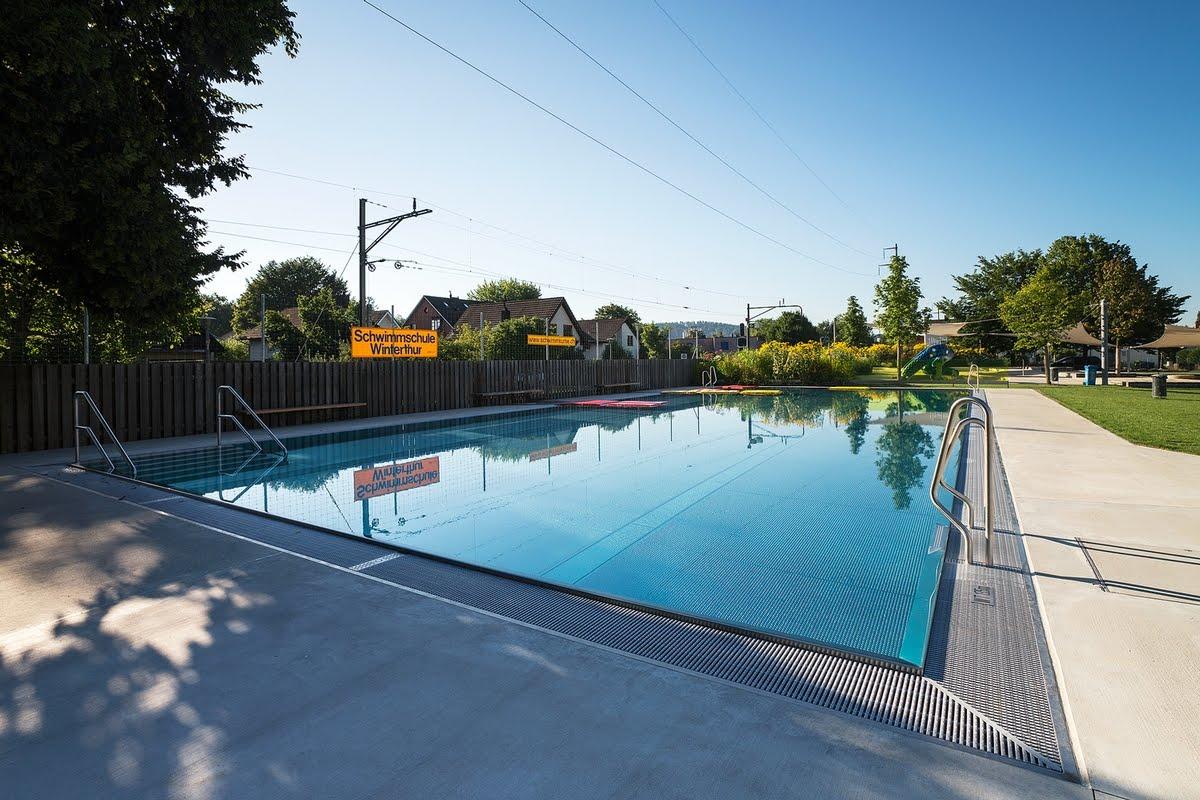 Schwimmbad,Freibad,Öffentliche Freibäder,Edelstahlbecken,Edelstahlpool,Chromstahlpool